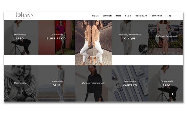 Johann Homepage