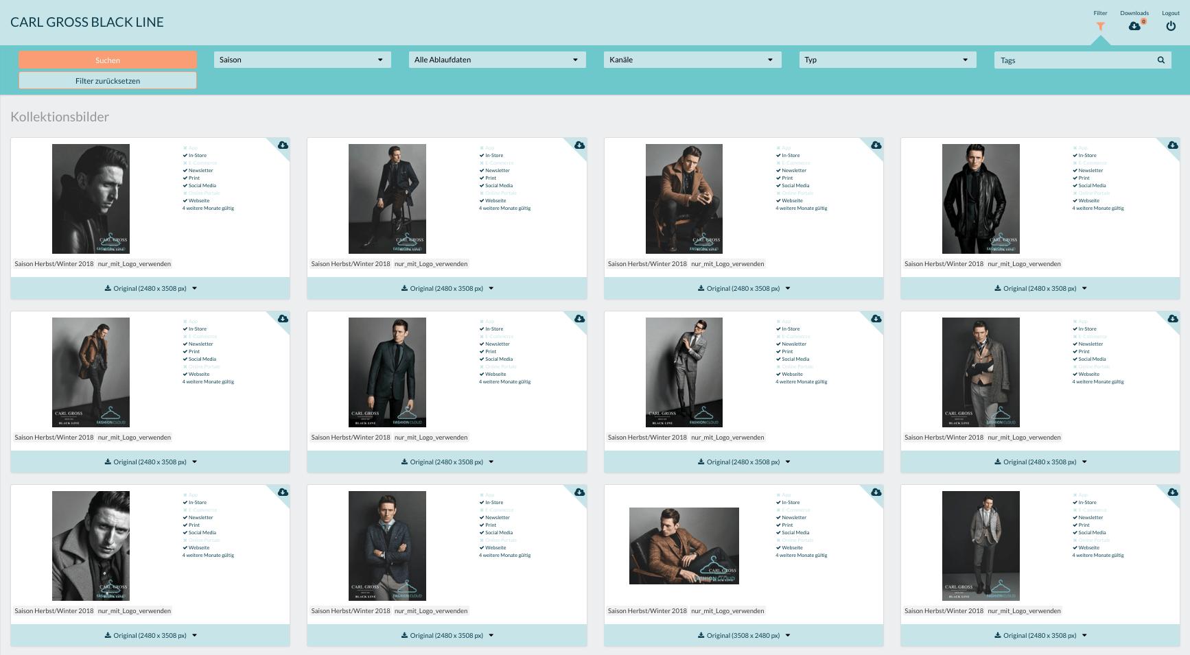 Produktdaten von CAMBIO