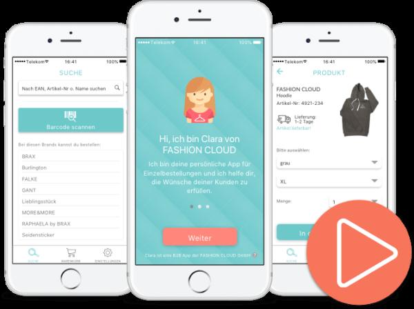 Wie funktioniert die Endlosregal App Clara? - Erklärvideo