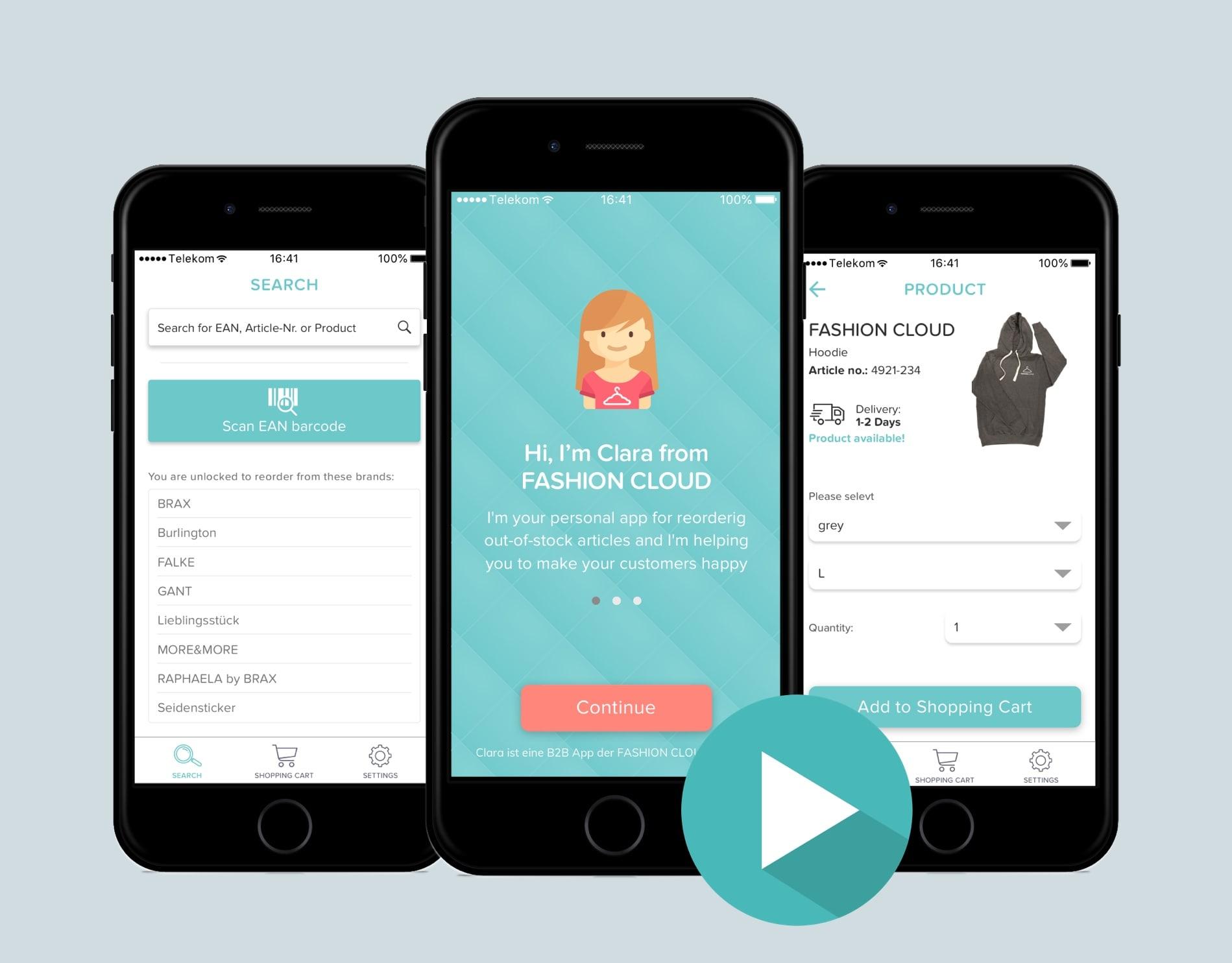 Watch how the Clara App works!