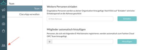 Content Plattform FAQ Menü 7 Personen Einladen