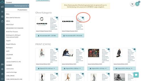 Content Plattform FAQ Menü 3 Warenkorb