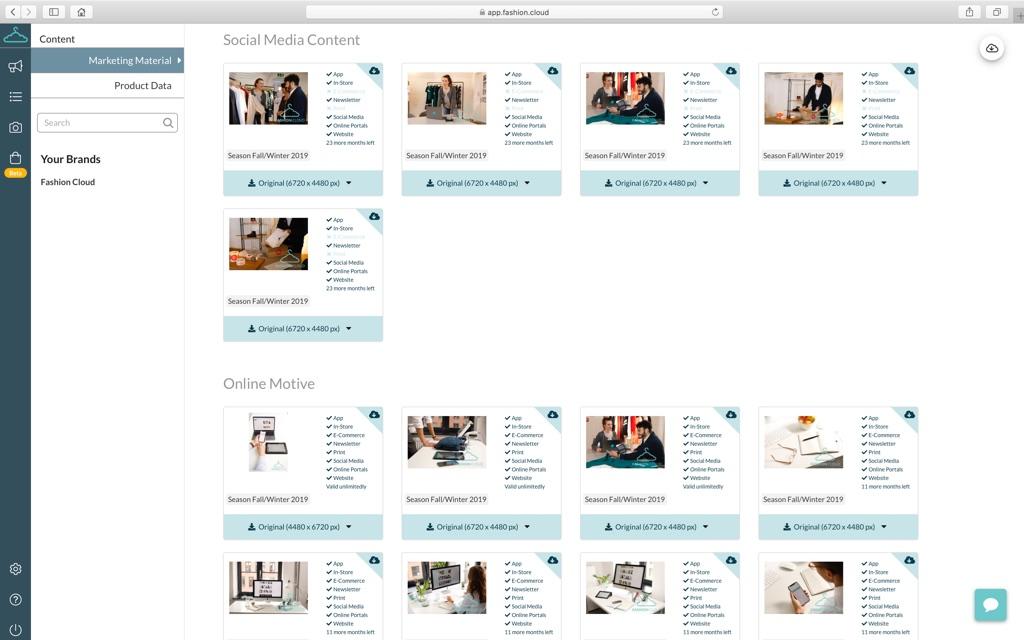 Retailer view: Marketing materials