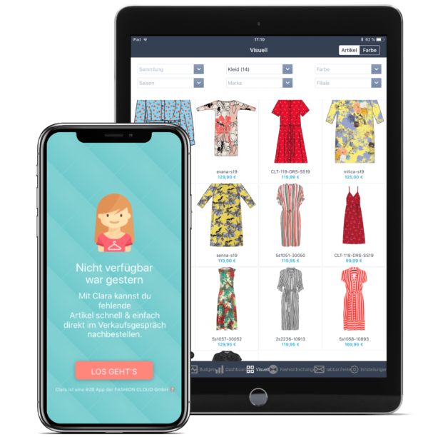 Mobile Apps bei Fashion Cloud
