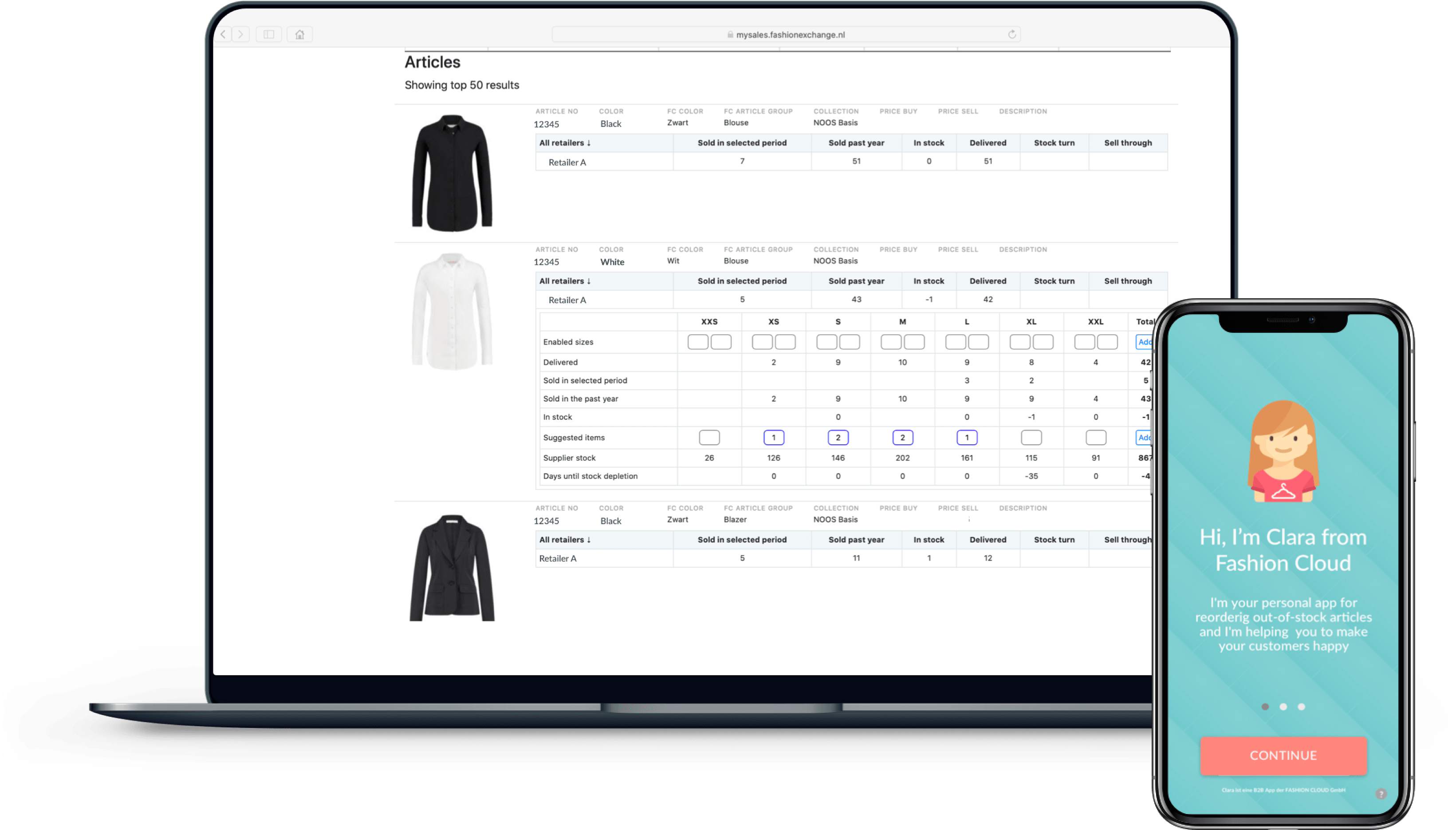 In-Season-Management with Fashion Cloud