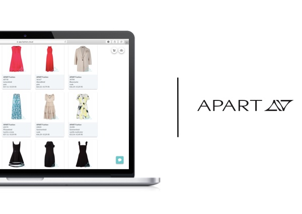 APART now uses the order area on Fashion Cloud