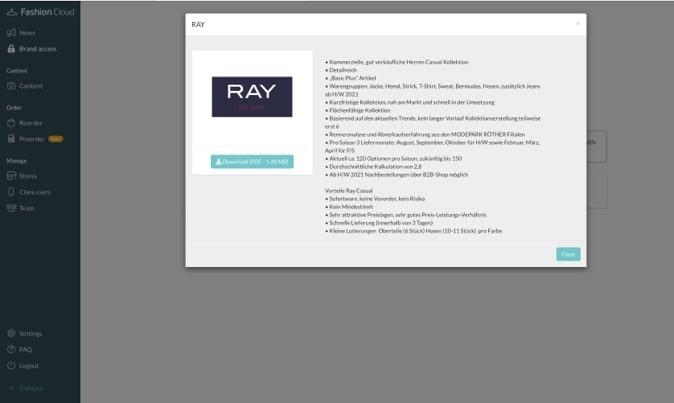 Brand Profil von re.draft