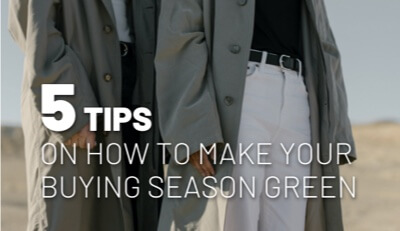 Tips on a sustainable buying season
