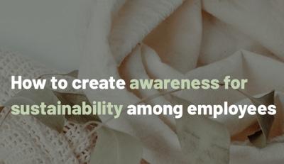 Creating awareness among employees